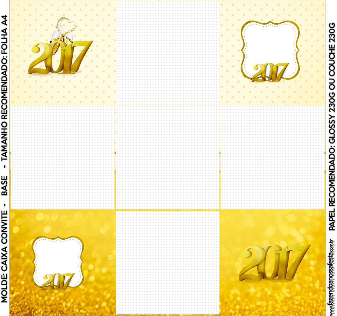 Convite Caixa Fundo Ano Novo 2017