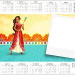 Convite Calendário 2017 Elena de Avalor