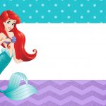 Convite Pequena Sereia Ariel