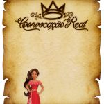 Convite Pergaminho Princesa Elena de Avalor 3