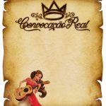 Convite Pergaminho Princesa Elena de Avalor 4