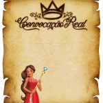 Convite Pergaminho Elena de Avalor 5