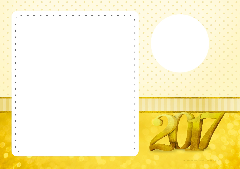 Convite com Foto Ano Novo 2017