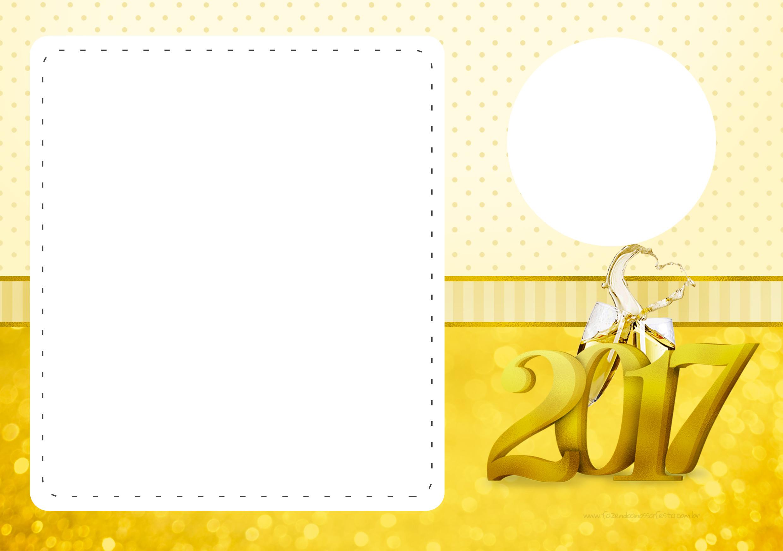 Convite com foto 2 Ano Novo 2017