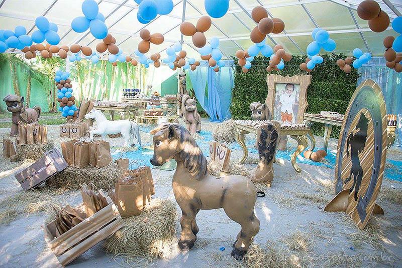Decoração Festa Infantil Haras do Joaquim