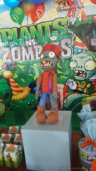 Decoração Festa Plants vs Zombies