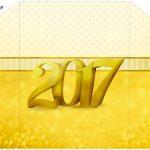 Envelope Convite Ano Novo 2017