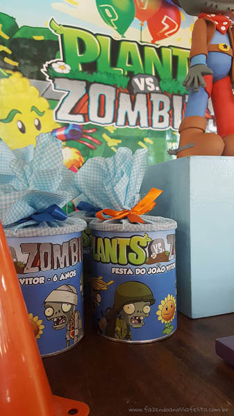 Festa Infantil Plants vs Zombies