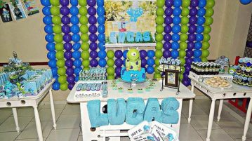 Festa Infantil Universidade Monstros do Lucas 11