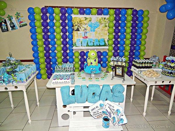 Festa Infantil Universidade Monstros do Lucas 11
