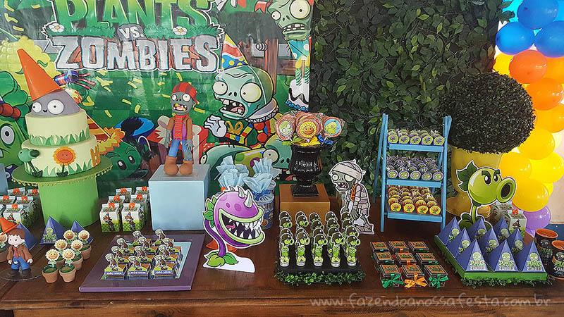 Festa Plants vs Zombie