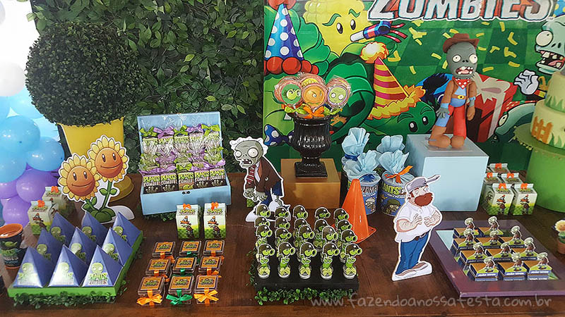 Festa Plants vs Zombies 2