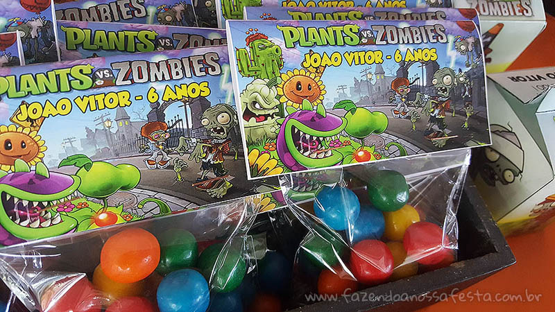 Festa Plants vs Zombie 3