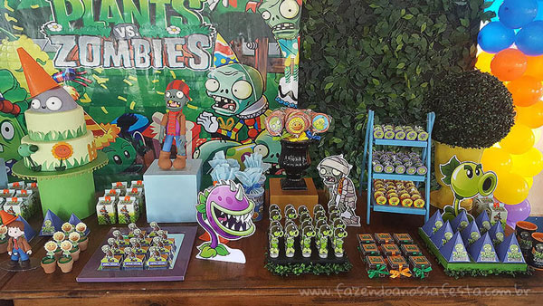 Festa Plants vs Zombies