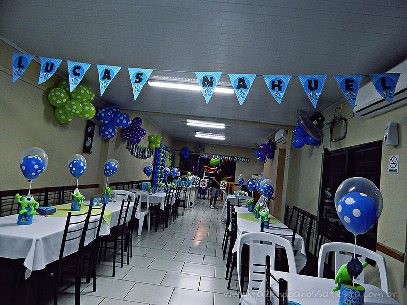 Festa Universidade Monstros do Lucas 2