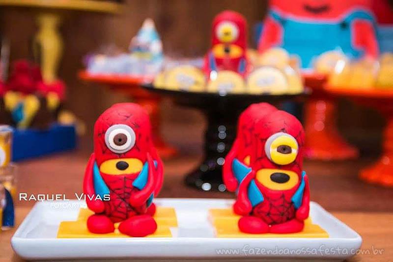 Ideias para Festa Infantil Minions Super-Heróis 10