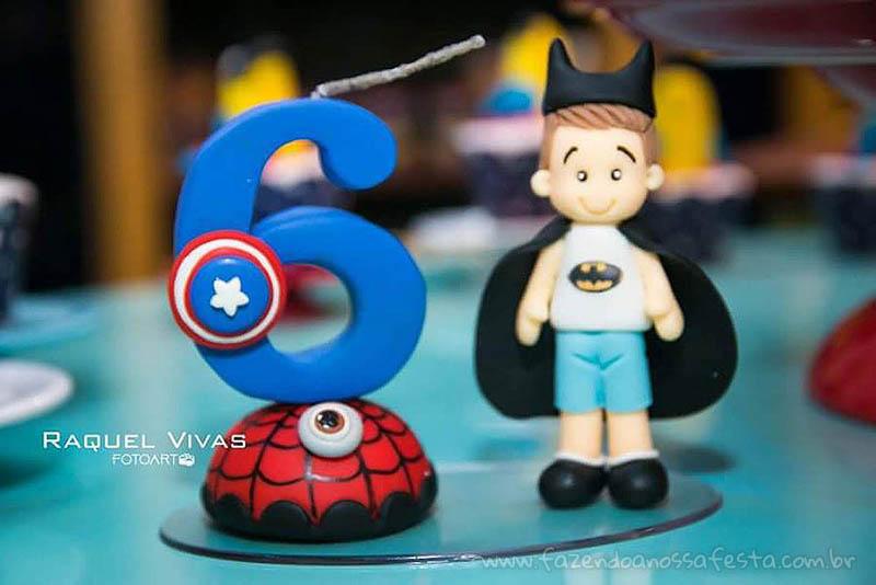 Ideias para Festa Infantil Minions Super-Heróis 14