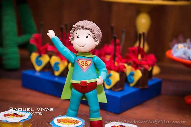 Ideias para Festa Infantil Minions Super-Heróis 4