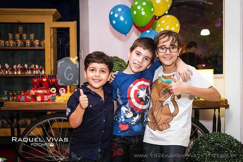 Ideias para Festa Infantil Minions Super-Heróis