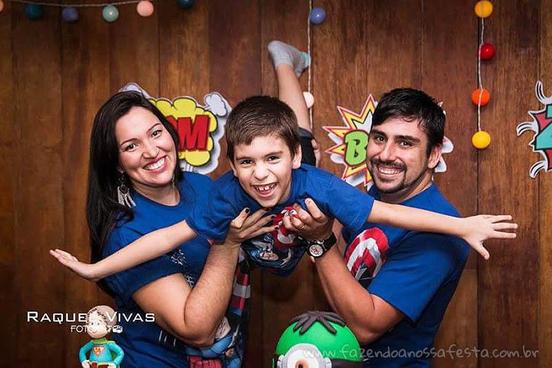 Ideias para Festa Minions Super-Heróis Família