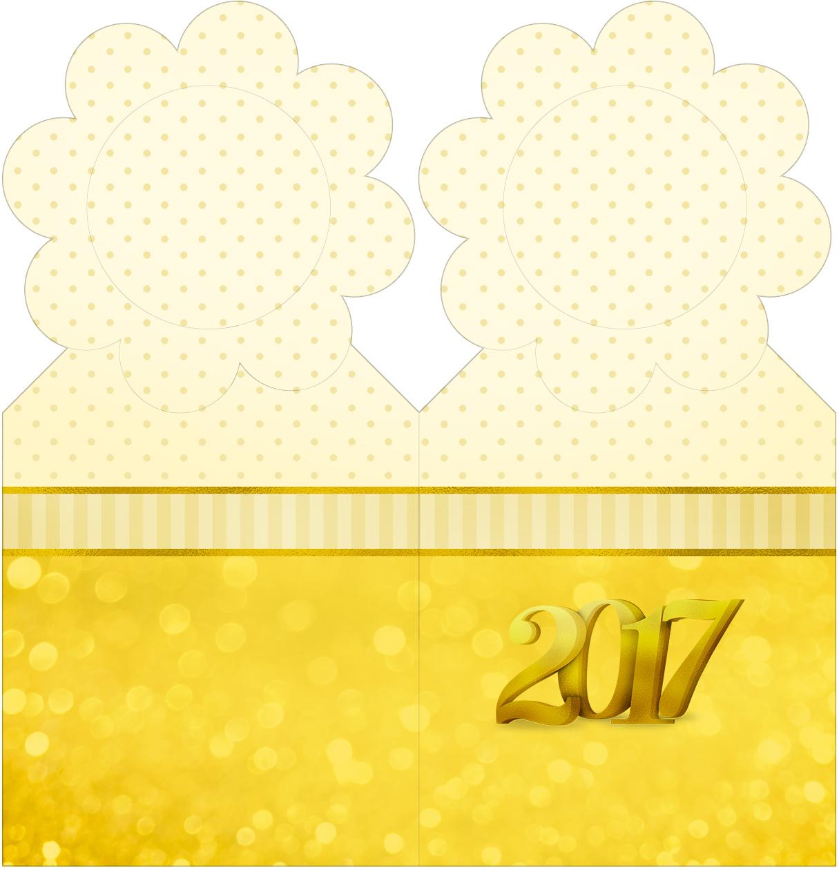 Marcador de Páginas Ano Novo 2017