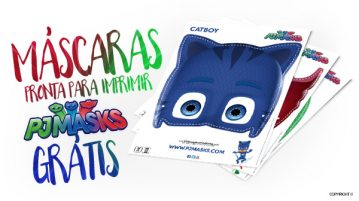 Mascaras PJ Mask
