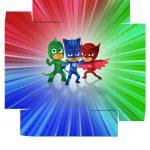 PJ Mask Caixa de BomBom Modelo Colorido 2