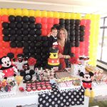 Painel de balões Mickey