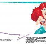 Pequena Sereia Ariel Plaquinhas para fotos 33