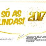 Plaquinhas divertidas Ano Novo 2017 16