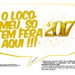 Plaquinhas divertidas Ano Novo 2017 21