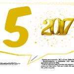 Plaquinhas divertidas Ano Novo 2017 24