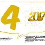 Plaquinhas divertidas Ano Novo 2017 25