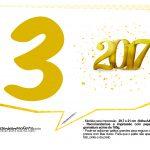 Plaquinhas divertidas Ano Novo 2017 26