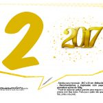 Plaquinhas divertidas Ano Novo 2017 27