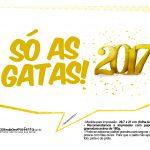Plaquinhas divertidas Ano Novo 2017 30