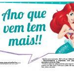 Plaquinhas Pequena Sereia Ariel 5