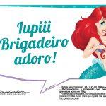 Plaquinhas Pequena Sereia Ariel 7