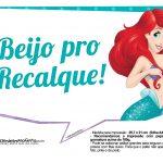 Plaquinhas Pequena Sereia Ariel 8