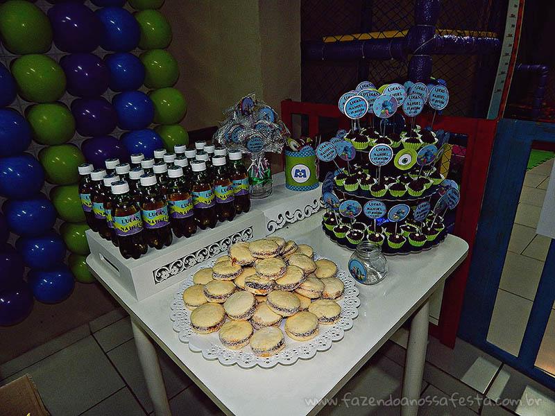Refrigerante Personalizado Festa Universidade Monstros do Lucas