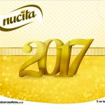 Rótulo Creminho Nucita Ano Novo 2017