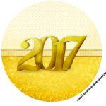 Rótulo Latinhas Toppers e Tubete Ano Novo 2017