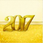 Rótulo Mini Confeti Ano Novo 2017