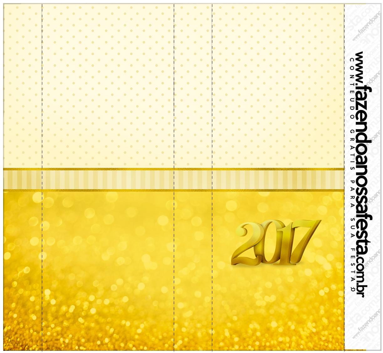 Rótulo Nescau Ano Novo 2017