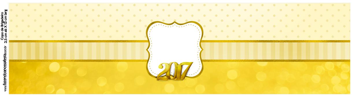 Rótulo Squezze Ano Novo 2017