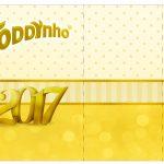 Rótulo Toddynho Ano Novo 2017