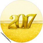 Rótulo Tubete 2 Ano Novo 2017