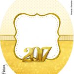Rótulo Tubete Oval Ano Novo 2017