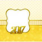 Rótulo para caixa bombom Ano Novo 2017
