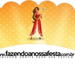 Saias Wrappers para Cupcakes 2 Elena de Avalor